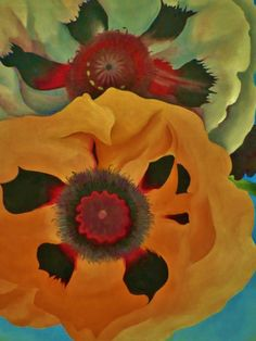 ohdarlingdankeschoen:  http://www.pinterest.com/pin/396809417143362451/ Georgia O'Keeffe (1887-1986) Poppies, 1950. Oil on canvas