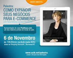 Taísa Adriana Cardoso Bornhofen estará palestrando sobre como expandir seus negócios para e-commerce