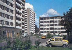 Puławy, osiedle im. K. Świerczewskiego przy ulicy Wojska Polskiego (lata 70/80. XX w.)