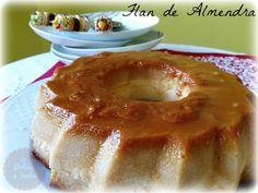 Flan de Almendra   Las Delicias de Isabel