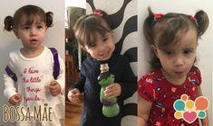 Penteados infantis para meninas - Bossa Mãe Easy Hairstyles, Girl Hairstyles, Girl Hair Dos, Hair Styles, Baby, Small Bathroom, Tattoo, Baby Boy Hair, Childrens Hairstyles