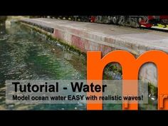 Tutorial - How to make ocean water with realistic waves EASY - YouTube