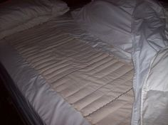 Make this bed warmer for toasty warm beds in the winter...   then use it in the summer to make the sheets cooler!