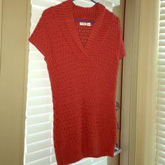 Sweater top Orange sweater shirt. Cato Tops