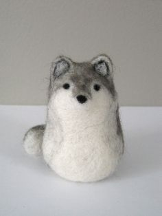 wolf needle felting - Google Search