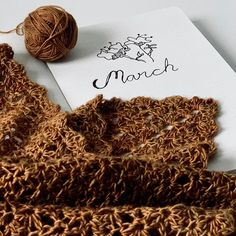 """Mia of Cozysrows on Instagram: """"🌷I have been waiting for you March! Hopefully you bring us new colors and lots of time to crochet! 🌷 🌷 #craftjournal #crocheteveryday 🌷 🌷…"""" I Have Been Waiting, Waiting For You, Crochet Patterns, Bring It On, March, Place Card Holders, Journal, Colors, Crafts"""