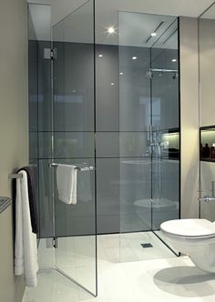Small Bathroom Design Ideas Recommended For You. The small bathroom design photos we gathered in the list below prove that size doesn't matter. Modern Bathroom Design, Bathroom Interior Design, Modern Bathrooms, Small Bathrooms, Bath Design, Bathroom Designs, Interior Ideas, Shower Designs, Modern Marble Bathroom