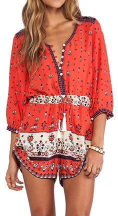 Wanderer Romper Needs a little more length. But come on! Adventurous and laid Back and perfect
