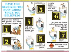 Search for Truth - Have you received the Holy Ghost since you believed?