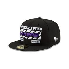 3b5b12a079c Los angeles lakers slash division 59fifty fitted. New Era Cap