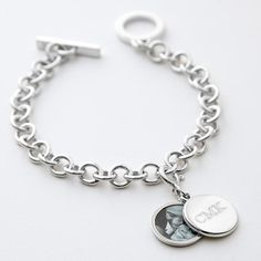 classic swing locket charm bracelet