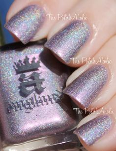 Princess Tears  The PolishAholic: A England The Legend Collection Swatches Pt. 1