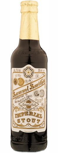 Samuel Smith's Imperial Stout - not my favorite imperial stout, but still quite tasty