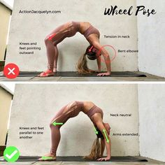 "Yoga Woman (@yoga.woman) on Instagram: ""Wheel Pose! Im going to be exploring backbends for the next month, including modifications,…"""