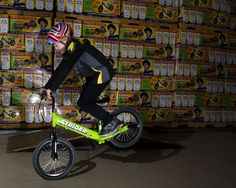 Super 16 Stoppie Balance Bike, Mentally Strong, Striders, Portugal