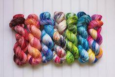New #speckled yarns will be available soon! #yarn #knitting #knittersofinstagram #knit #yarnlove #yarnaddict #wool #knitstagram #yarnporn #diy #yarn #knittingaddict #selfstriping #handdyedyarn #selfstripingyarn #selfstripingsockyarn #handdyed #indieyarn #indiedyedyarn #knittersofig #indiedyers #autorayante