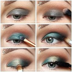 Emerald Dream by Julia S. Click the pic to see the products she used. #beauty #makeup #nightout