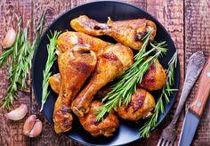 cosce di pollo al forno dopo la cottura