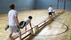 Langbänke- Sportunterricht