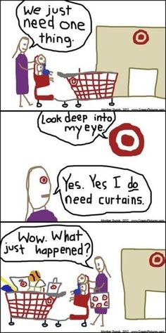 So this is how it happens... You know you always go into Target for one item and walk out with more than one item and spending way more money than you wanted!  :)   I <3 Target!