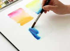 The Alison Show: Watercolor Tutorial part 2: Blending