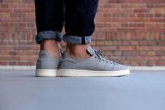 Stan Smith LEA Sock translucent Carbon/Off White
