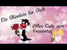 Alles liebe zum Frauentag ❤ 8.März Smurf Schlümpfe Schlumpf Zoobe Animation niedlich süß - YouTube