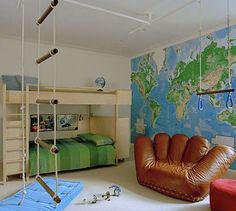 mommo design: DECORATING WITH MAPS
