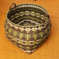 Large storage floor basket house warming gift by WeavingArt