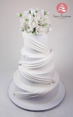 Cake Flowers - Cake by Cesar Renteria Cakes - CakesDecor