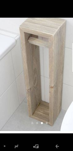 **Toilettenpapierhalter, Toilettenpapierständer, Klopapierhalter, H/B/T  65/16/1 | Bathroom | Pinterest | House, Pallets And Future