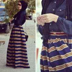 Hijab, Maxi >> like this..want this :))