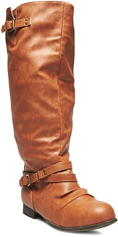 Wet Seal Tall Riding Boots - Wide Width on shopstyle.com