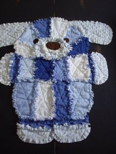 Diy baby blanket ideas rag quilt 49 ideas for 2019 Baby Rag Quilts, Dog Quilts, Animal Quilts, Quilting Projects, Quilting Designs, Sewing Projects, Colchas Quilt, Quilt Blocks, Rag Quilt Patterns