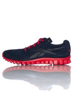 Reebok Men s Real Flex Run Suede Running Shoe on Sale cd66ef0ed