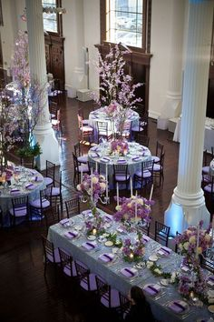 Wedding ● Tablescape & Reception Décor ● Purple / Lavender