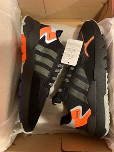 best service ec0fc e56ea Adidas Nite jogger Core Black size M 12 fashion clothing shoes  accessories
