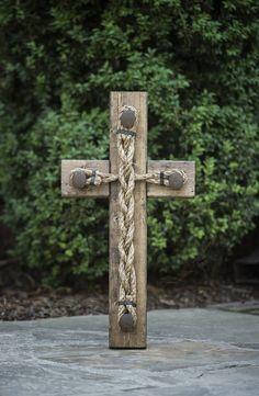 Wedding Braid Cross  Cord of Three Strands God's Knot