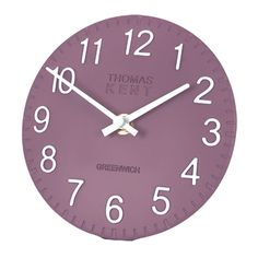 "Thomas Kent Clocks|6"" Cotswold DAMSON Clock
