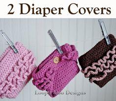 crochet diaper covers