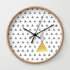 Buy #015 OWLY monarch Wall Clock by owlychic. Worldwide shipping available at Society6.com. Just one of millions of high quality products available. #livingrooms #products #today #owlychic  #livingrooms #decors #building #product #clock #wall #wallclocks