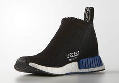 "We'll start out by stating the obvious – a shoe called a ""City Sock"" built with Primeknit or any sort of soft, knit upper will draw immediate comparisons to Nike's Sock Dart, a sneaker that was created a decade ago, returned with … Continue reading → Adidas Nmd, Adidas Shoes, Nmd City Sock, Sneakers Sketch, Winter Outfits, Summer Outfits, Teen Fashion, Fashion Trends, Runway Fashion"