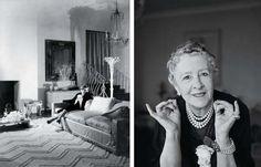 British interior designer Syrie Maugham (10 July 1879 – 25 July 1955)