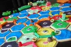 Candy of Catan.  @Tracy Sangster If only I had time and skills to make this for your birthday.  Then WE COULD EAT IT!