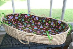 Make your own Moses basket bedding tutorial