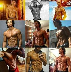 Body Building Gym actor Bollywood Tiger Shroff