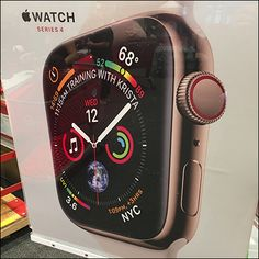 You'd brag too, just as does this Apple Watch Comes To Target Entry Sign. No words necessary, just the colorful watch face and a diminutive Apple Watch logo Apple Watch Iphone, New Iphone, Apple Watch Faces, Iphone Stand, Apple Watch Series 2, Ipad Mini 2, Android Smartphone, Watch Bands, Target