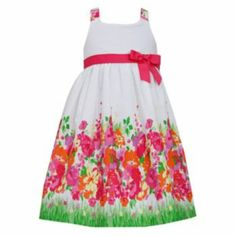 Bonnie Jean Floral Dress - Girls 4-6x