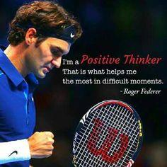 By Roger Federer