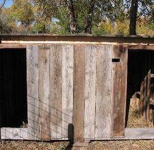 Pallet goat shed